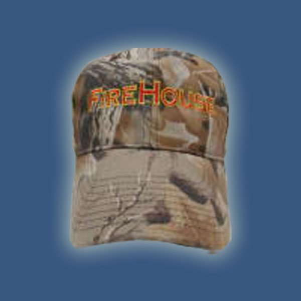 Camo FireHouse Hat