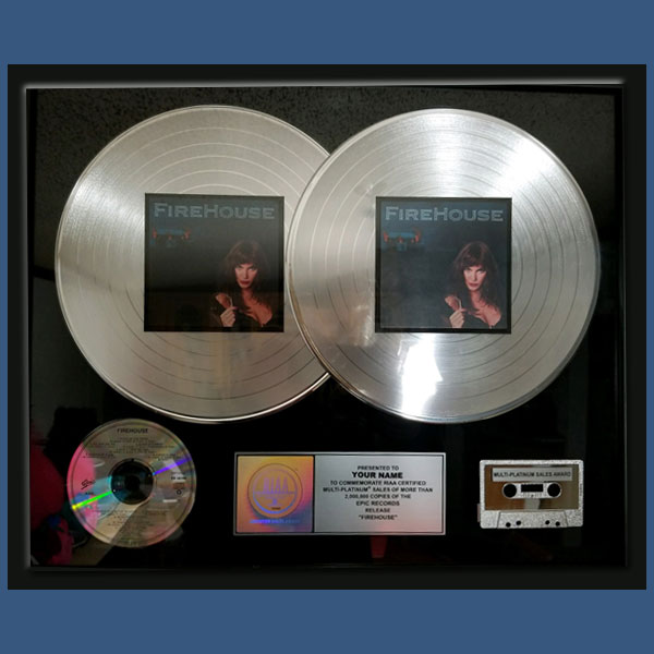 Double Platinum Plaque