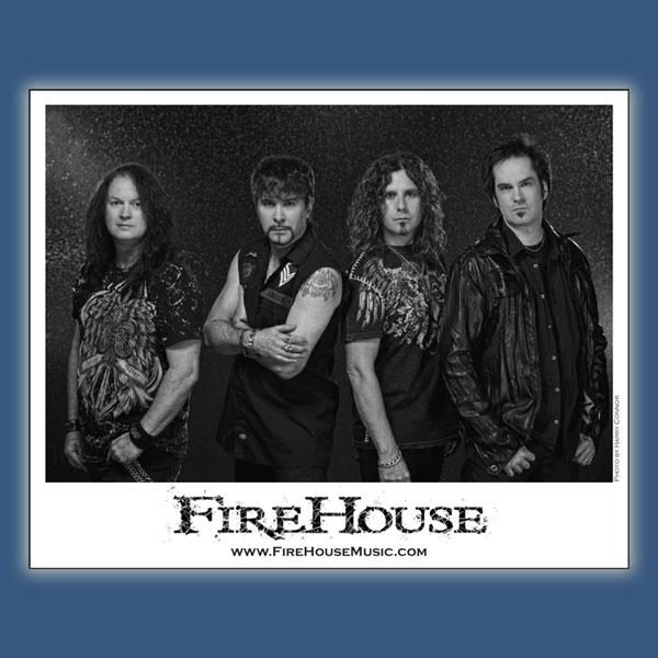 8x10 FireHouse Photo
